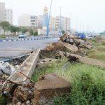 ۶ پایه برق در غرب کارون خرمشهر سقوط کرد