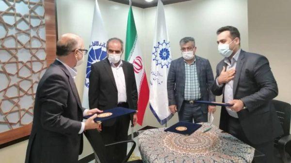 تفاهمنامه تامین ماهانه ۲هزار تن ورق فولادی واحدهای تولیدی خوزستان با شرکت فولاد اکسین امضا شد